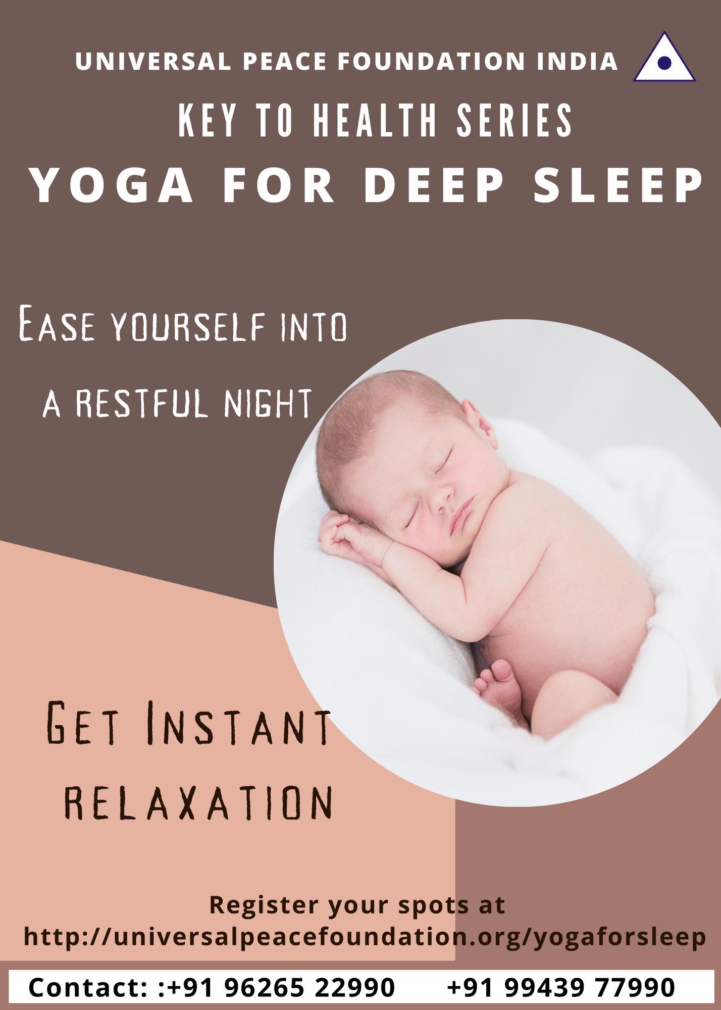 Thumbnail Yoga for sleep